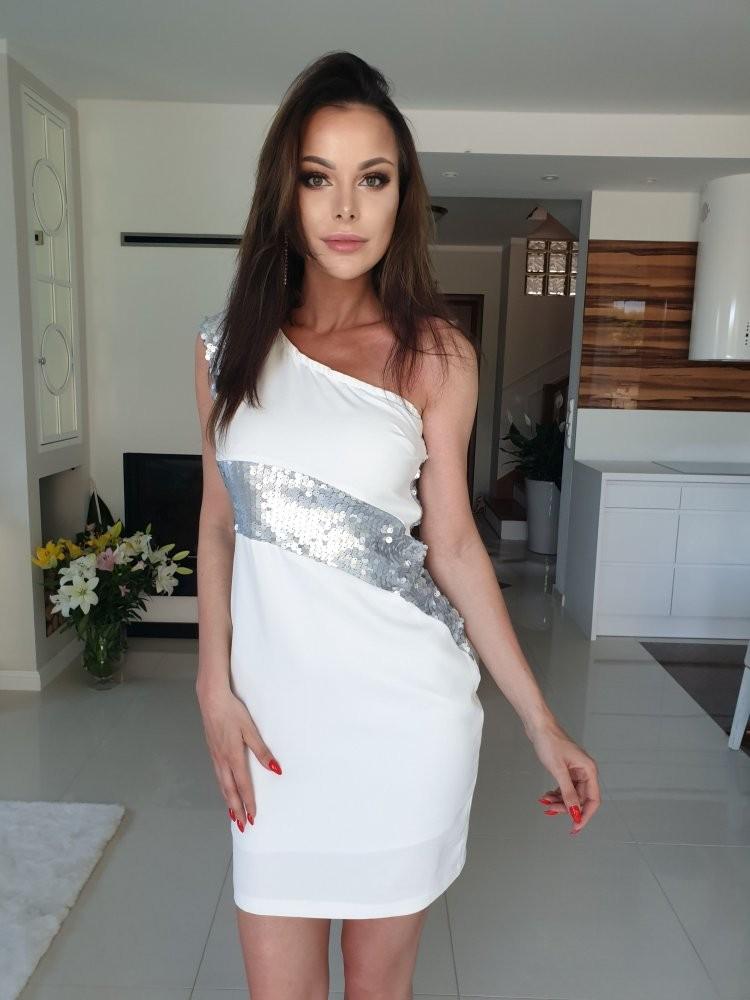 27bbe18e010c45 Sukienka ROYAL SILVER - Butik Sissi-Boutique