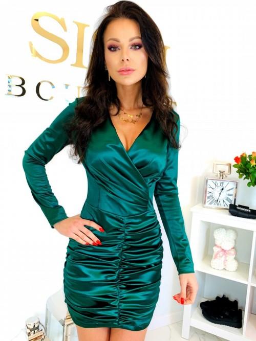 Sukienka CLARA- zieleń