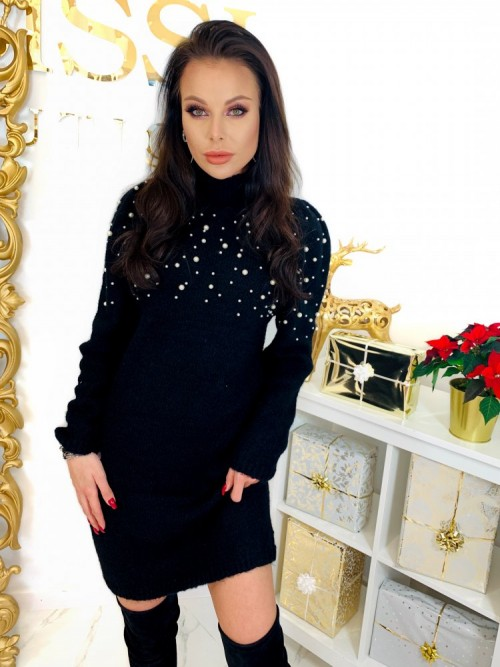 Sukienka PEARL- czarna