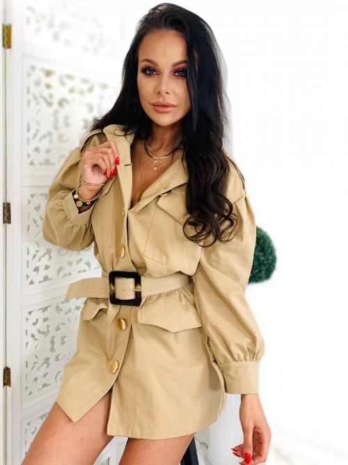Sukienka/Płaszcz TANYA- beż