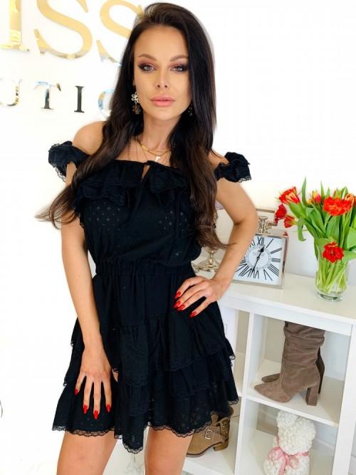 Sukienka CHELSEY- czarna