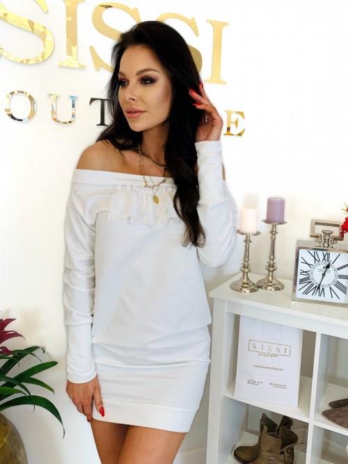 Sukienka DORIN- biała
