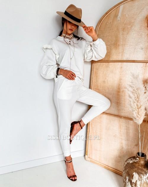 Spodnie COLIN White