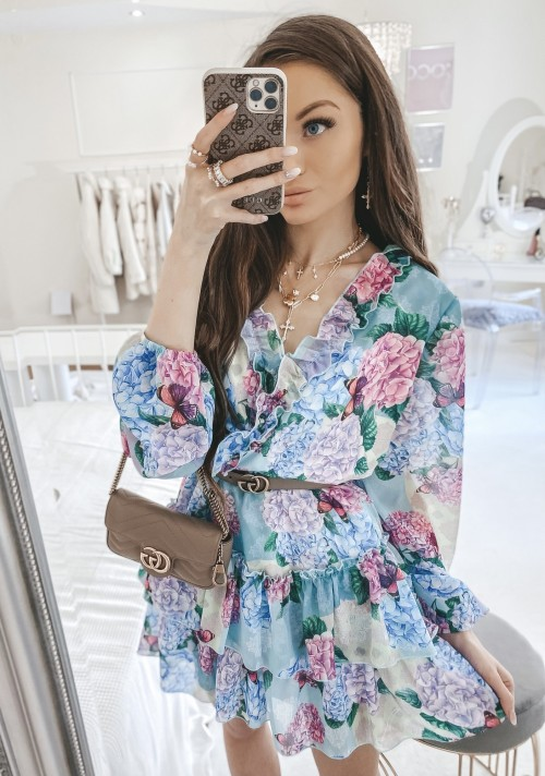 Sukienka JENNIFER kwiatowy print II