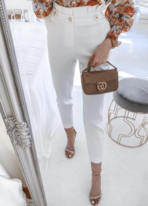 Spodnie MARRY białe