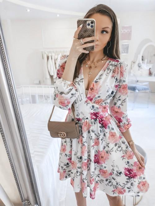 Sukienka ELLA w kwiatowy print