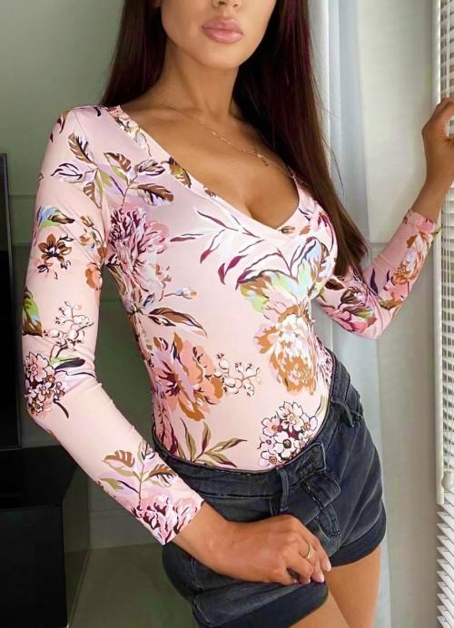 Body FLOWER w kwiatowy print
