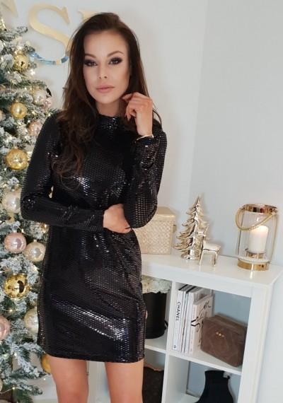Sukienka CHLOE- czarna
