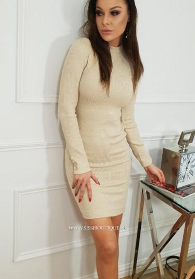 Sukienka MARTINE- beż