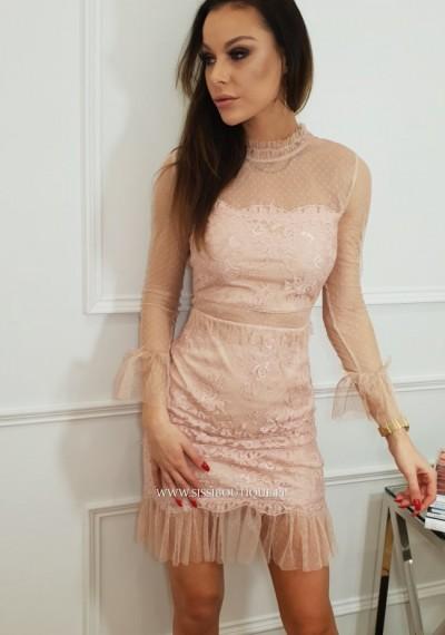 Sukienka LILIAN- róz