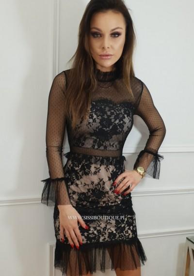 Sukienka LILIAN- czerń