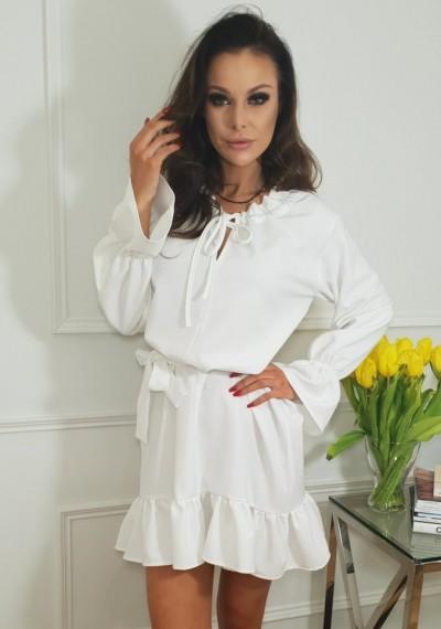 Sukienka PHOEBE- biała