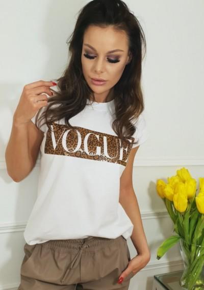 Tshirt VOGUE- biały