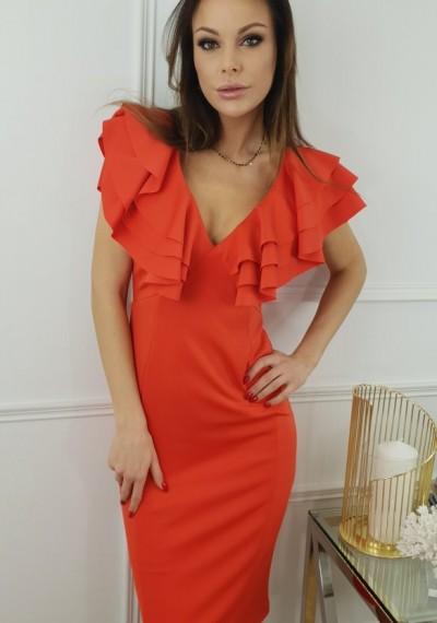 Sukienka CHANTELLE- czerwień