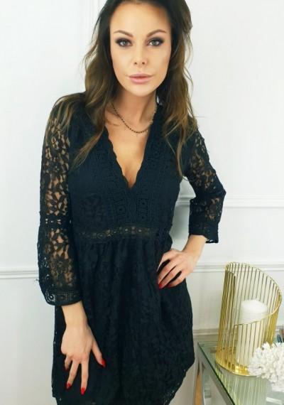 Sukienka GEMMA- czarna