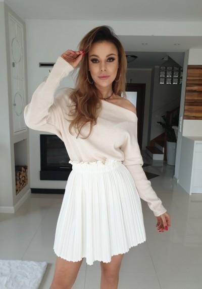 Spódnica ELEONOR-biała