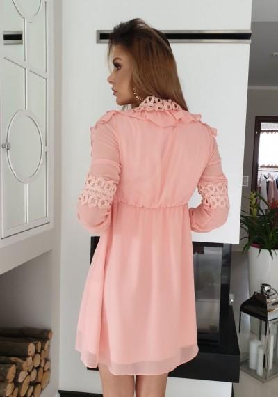 Sukienka JANE- brzoskwinia 5