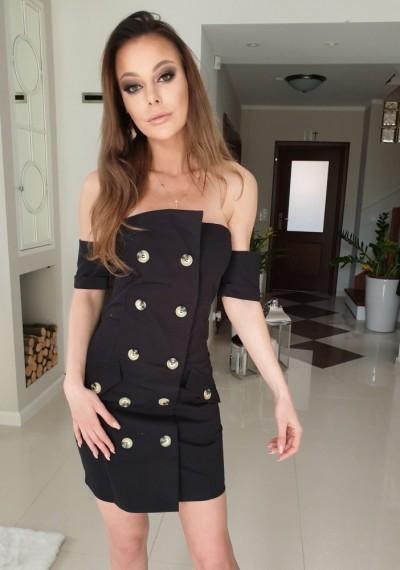 Sukienka BONNY- czarna