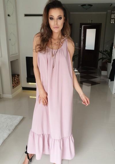 Sukienka VINIONA- róż