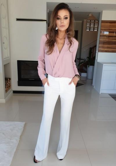 Spodnie DOLL- białe