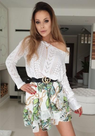 Spódnica YONI WHITE