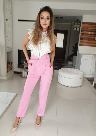 Spodnie MARRY- light pink