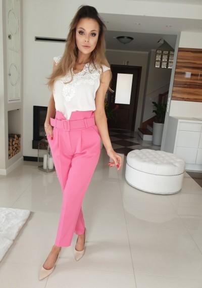 Spodnie MARRY-pink