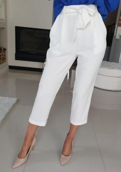 Spodnie MONA-biel