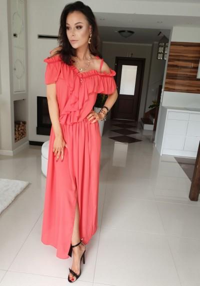Sukienka JUDY- czerwień