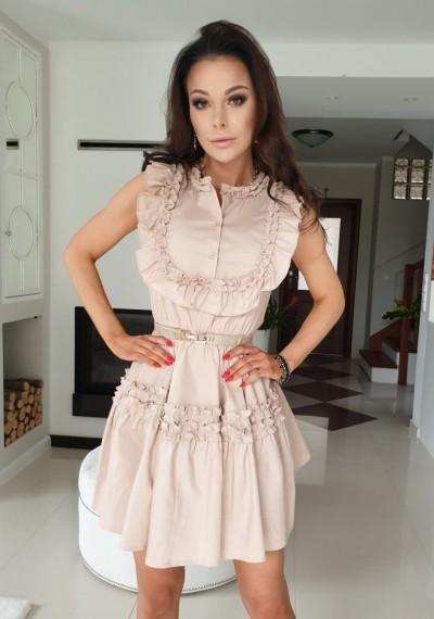 Sukienka ZOYA-beż