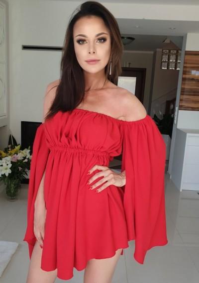 Sukienka BEVERLY RED