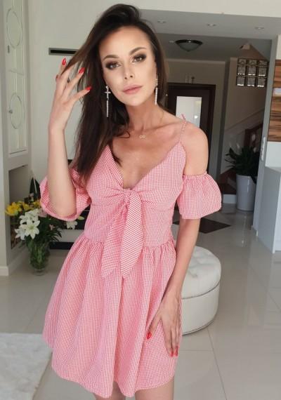 Sukienka ORIGO - czerwień