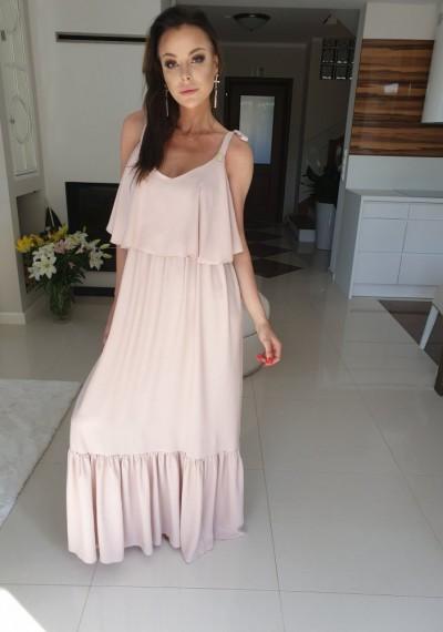 Sukienka EREZA- beż