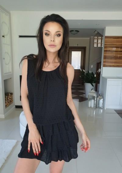 Sukienka LUNA- czarna