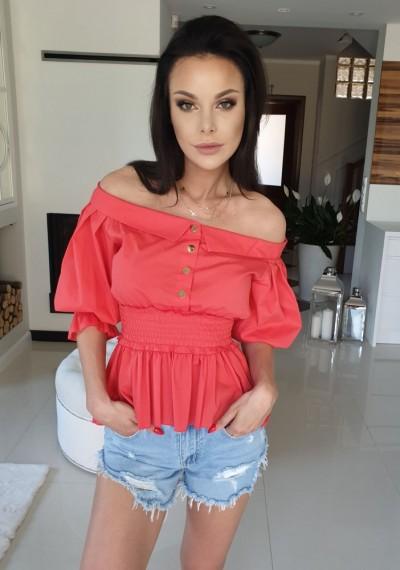 Bluzka CHANTELLE- czerwona