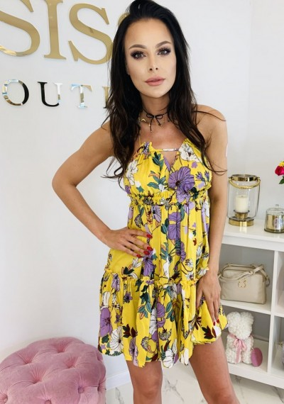 Sukienka GAJA YELLOW