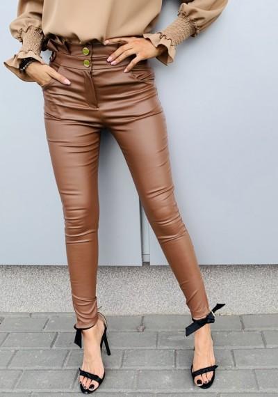 Spodnie GWEN- brąz