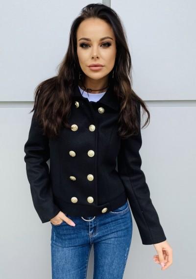 Płaszcz MOLLY- czarny