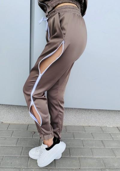 Spodnie MARCELL- brąz