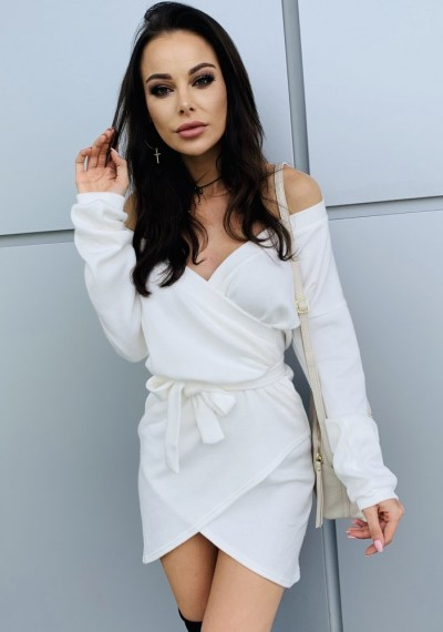Sukienka CLARA- biała