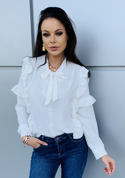 Koszula VIVIEN WHITE 3