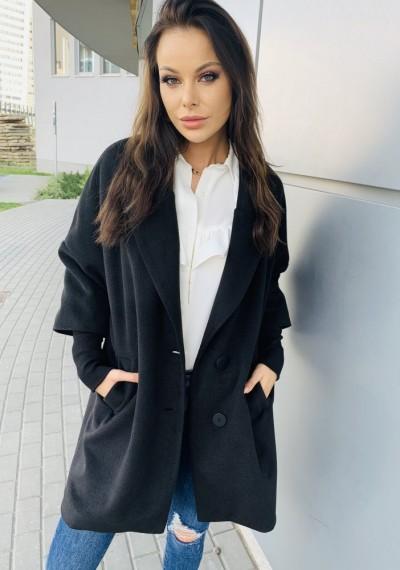 Płaszcz CHINO- czarny