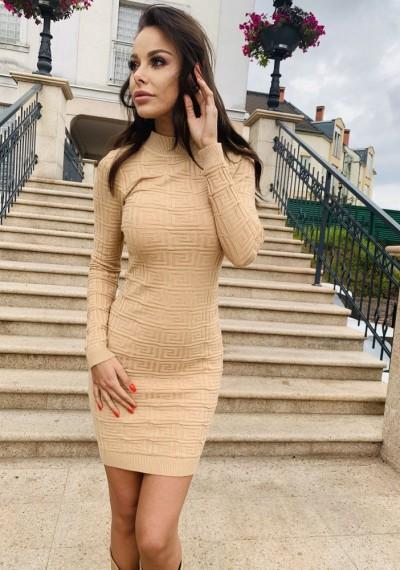 Sukienka MORGAN BEIGE