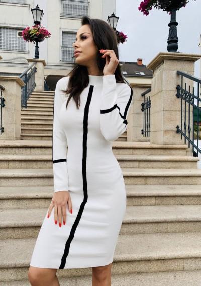Sukienka JAMIE- biel