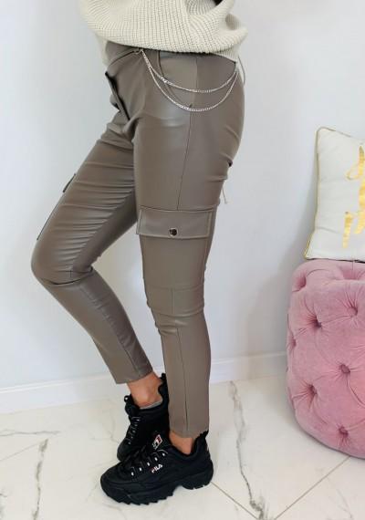 Spodnie JESS- brąz 4