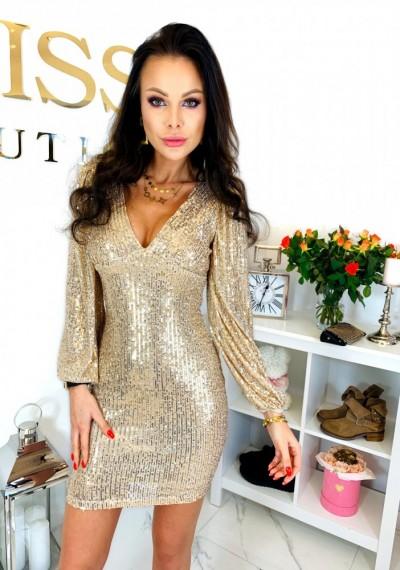 Sukienka RIVA GOLD
