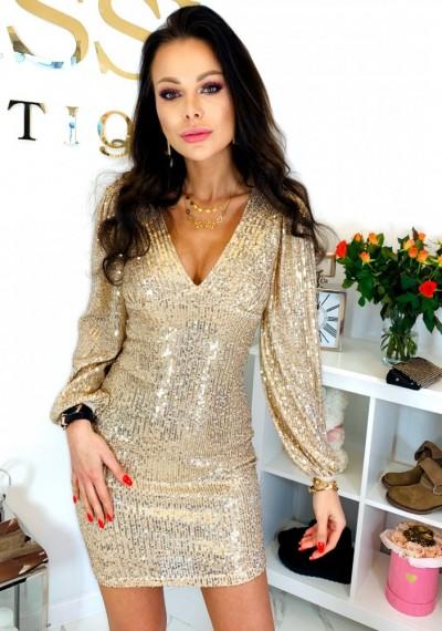 Sukienka RIVA GOLD 2