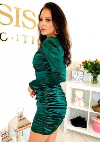 Sukienka CLARA- zieleń 2
