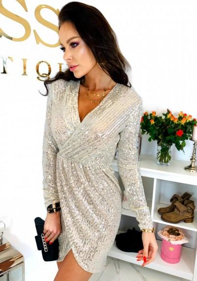 Sukienka TAMARA GOLD 1
