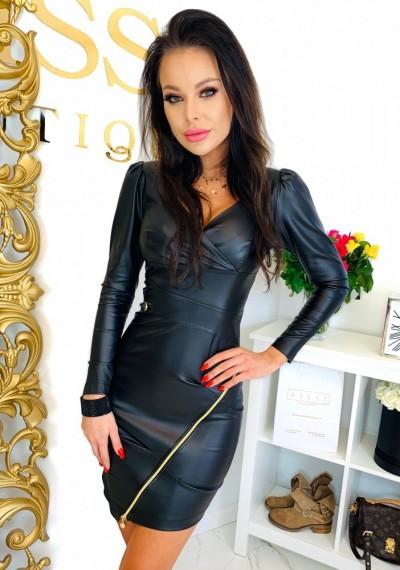 Sukienka LOUISE- czarna